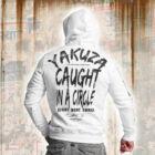 """Caught In A Circle"" Kapucnis Pulóver"