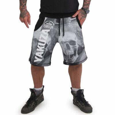 """"""" Muerte Skull Sweat Shorts """", fekete Rövidnadrág"""