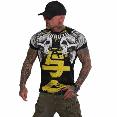 YAKUZA SICK NIPPON férfi póló fekete