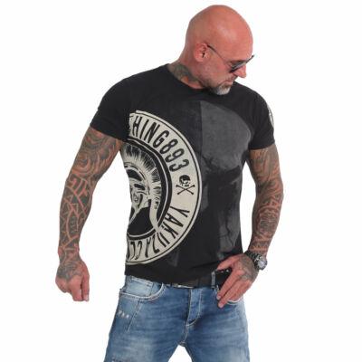 Spartan póló, fekete