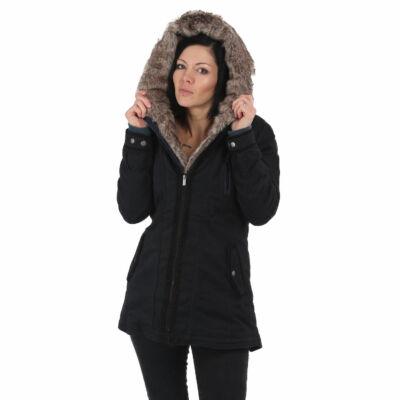 """""""El Bastardo"""" Fekete Női Téli Kabát"""