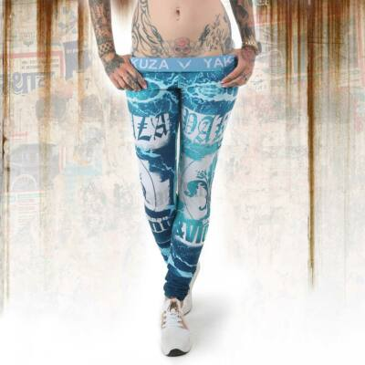 Yakuza Poseidon Leggings