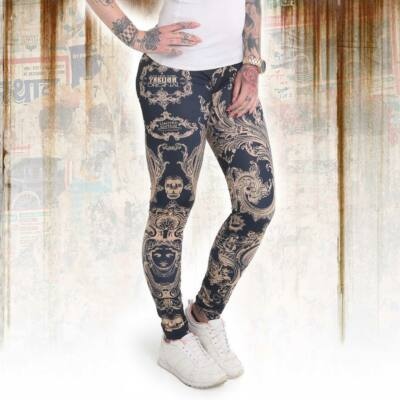 FLORAL V02 LEGGINGS