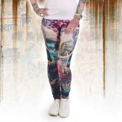 FLOWERS OF DEATH LEGGINGS
